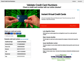 Validcreditcardnumber.com thumbnail