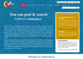 Validfeedback.com thumbnail