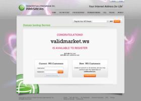 Validmarket.ws thumbnail