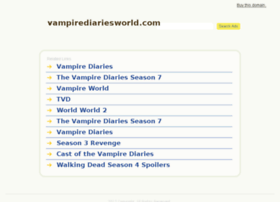 Vampirediariesworld.com thumbnail