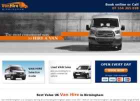 Van-hire-birmingham.co.uk thumbnail