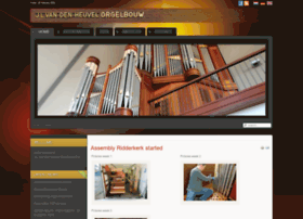 Vandenheuvel-orgelbouw.nl thumbnail