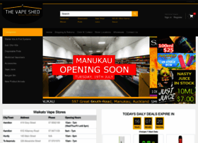 Vapeshed.co.nz thumbnail