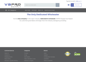vaprosupply com at WI  VAPRO USA Wholesale Electronic Cigarette and