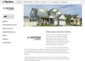 Variform.plygem.com thumbnail
