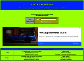 Vat-number-check.com thumbnail