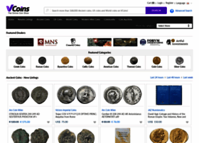 vcoins com at WI  Online coin dealers  Ancient Coins, US Coins and