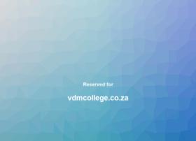 Vdmcollege.co.za thumbnail
