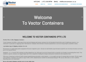 Vectorcontainers.co.za thumbnail