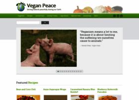 Veganpeace.com thumbnail