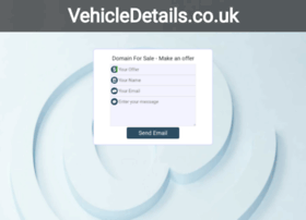 Vehicledetails.co.uk thumbnail
