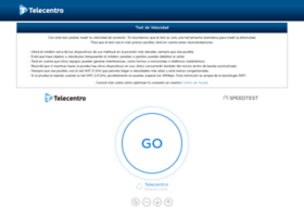 Velocidad.telecentro.net.ar thumbnail