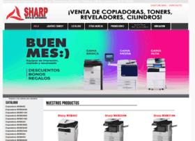Ventadecopiadorassharp.com.mx thumbnail