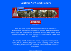 Ventlessairconditioners.com thumbnail