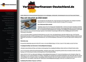 Verbraucherfinanzen-deutschland.de thumbnail