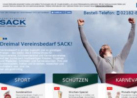 Vereinsbedarf-sack.de thumbnail
