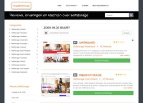 Vergelijkselfstorage.nl thumbnail