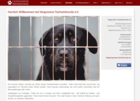 Vergessene-tierheimhunde.de thumbnail