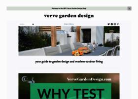 Vervegardendesign.com thumbnail
