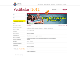 Vestibular2012.uneb.br thumbnail