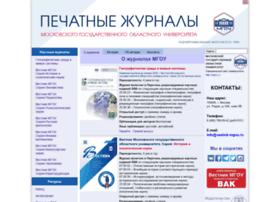 Vestnik-mgou.ru thumbnail