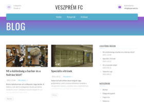 Veszpremfc.hu thumbnail