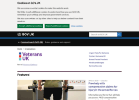 Veterans-uk.info thumbnail