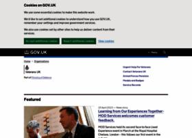Veterans-uk.info thumbnail