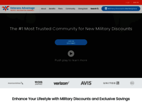 Veteransadvantage.com thumbnail