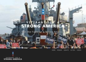 Veteransforastrongamerica.org thumbnail