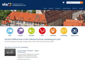 Vhs-landsberg.de thumbnail