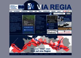 Via-regia.org thumbnail