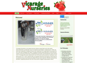 Vicaragenurseries.co.uk thumbnail