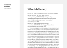 Videoadsmastery.net thumbnail