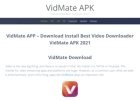 vidmateapk co in at WI  Vidmate APK - Download Vidmate APP Free