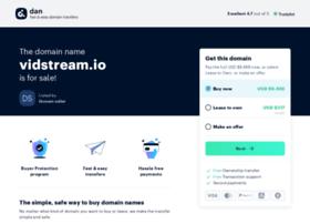 Vidstream.io thumbnail