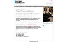 Vienna-transfer.at thumbnail
