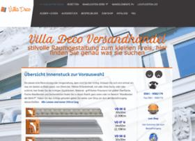 Villadeco-versandhandel.de thumbnail