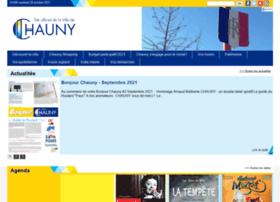 Ville-chauny.fr thumbnail