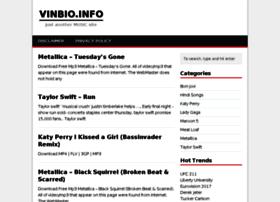Vinbio.info thumbnail