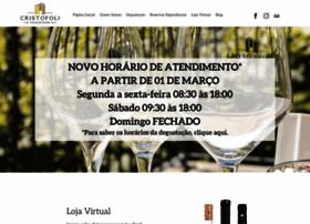 Vinhoscristofoli.com.br thumbnail