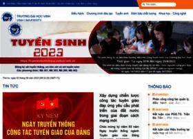 Vinhuni.edu.vn thumbnail