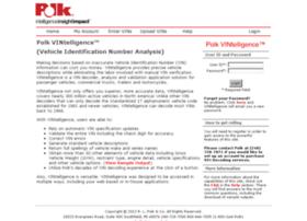 Vintelligence.polk.com thumbnail