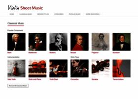 Violinsheetmusic.org thumbnail