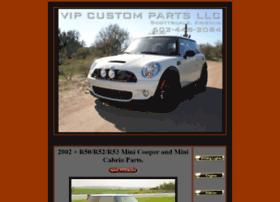 Vipcustomparts.com thumbnail