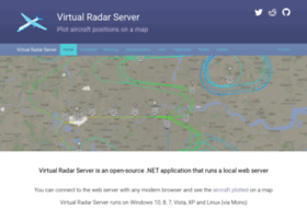 Virtualradarserver.co.uk thumbnail