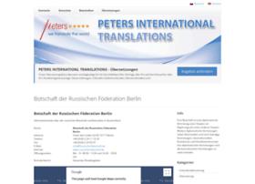 Visum-russische-botschaft-konsulate.de thumbnail