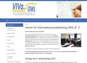 Vivaowl.net thumbnail