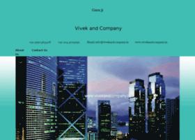 Vivekandcompany.in thumbnail