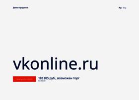 Vkonline.ru thumbnail